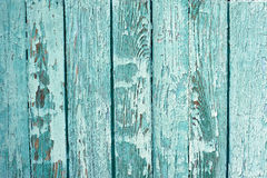 Peeled Painted Wooden Board. Closeup wooden texture background of a peeled painted wooden board stock photography
