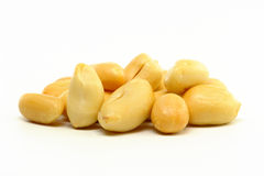 Peeled Peanuts Stock Image