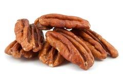 Peeled pecan nuts Royalty Free Stock Image