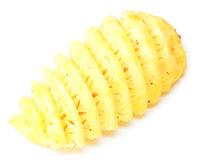 Peeled pineapple Royalty Free Stock Photo