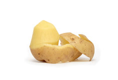 Peeled Potato Royalty Free Stock Photography