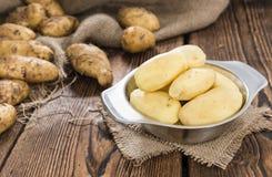 Peeled Potatoes Royalty Free Stock Images