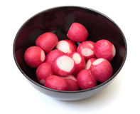Peeled radish Stock Photos