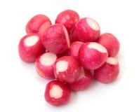 Peeled radish Royalty Free Stock Images