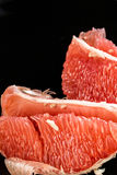 Peeled red grapefruit Royalty Free Stock Photography