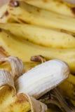 Peeled ripe banana Royalty Free Stock Photo