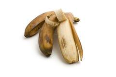 Peeled ripe banana Stock Photo