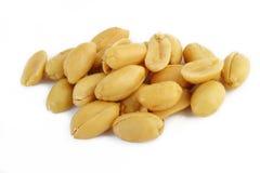 Peeled salted peanuts Royalty Free Stock Photo