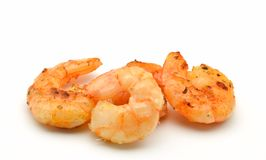 Peeled shrimp Stock Image