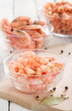 Peeled shrimp Royalty Free Stock Photography