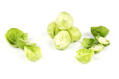Peeled Sprouts Stock Image