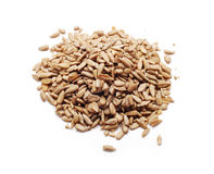 Peeled sunflower seeds Stock Images