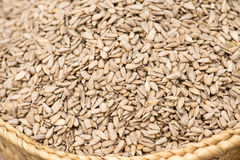 Peeled Sunflower Seeds On The Market Royalty Free Stock Photos
