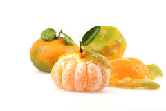 Peeled Tangerine Stock Photos