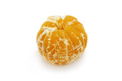 Peeled tangerine Royalty Free Stock Images