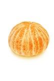 Peeled tangerine. Stock Photo