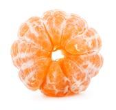 Peeled tangerine Stock Image
