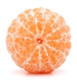 Peeled tangerine or mandarin fruit Royalty Free Stock Photography