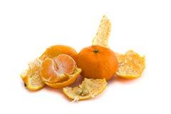 Peeled tangerine Stock Photos