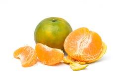 Juicy orange Tangerine fruit stock photos