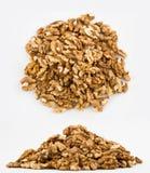 Peeled walnut Stock Photos