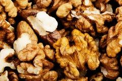 Peeled walnuts - background Royalty Free Stock Photos