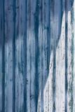 Peeled wooden wall Royalty Free Stock Photography