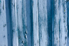 Peeled wooden wall Stock Images