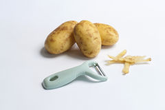 peeler πατάτα Στοκ Εικόνες