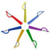 7 peelers, 7 цветов Стоковые Фото