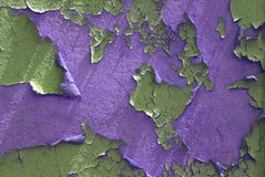 Peelilng Paint purple background 2 Royalty Free Stock Photos