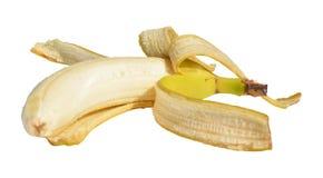 Peeling banana Royalty Free Stock Photography