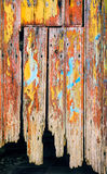 Peeling Door Royalty Free Stock Photos
