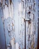 Peeling door Stock Image