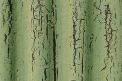 Peeling green paint Royalty Free Stock Photo