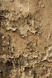 Peeling Old Wall. Grunge Texture of Peeling Old Wall Royalty Free Stock Image