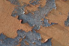 Peeling Paint 1 Stock Images