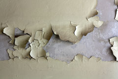 Peeling paint. Royalty Free Stock Photography