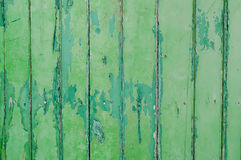 Peeling Paint  green   wall Stock Photo