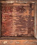 Peeling paint on an old door Royalty Free Stock Photography