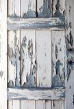 Peeling Paint on old wooden door, texture Stock Photo