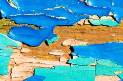 Peeling paint. Texture as background royalty free stock photo