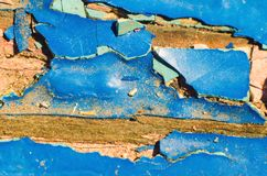 Peeling paint. Texture as background royalty free stock photos