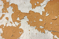 Peeling Paint on Wall Royalty Free Stock Photography