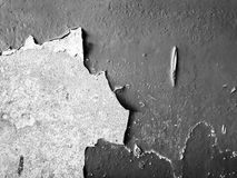 Texture of old peeling paint on the wall royalty free stock photos