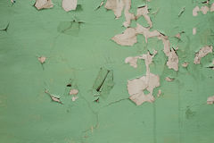 Peeling paint on the wall. Background Royalty Free Stock Image