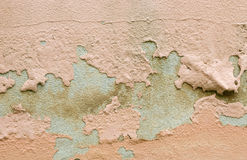 Peeling paint on wall background Royalty Free Stock Image