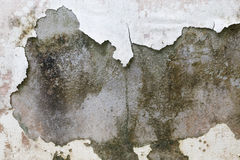 Peeling paint on wall background Stock Images