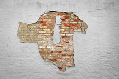 Peeling paint wall background Stock Images