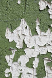 Peeling paint on a wall for backgrounds Stock Photography